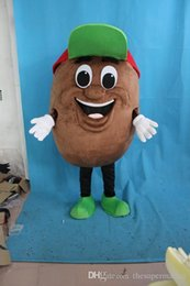 Wholesale Coffee Beans Customs - High quality Customized Vivid Mr. Coffee Beans Mascot Costume Coffee Bean Mascotte Mascota Adult Party Outfit Free Shipping