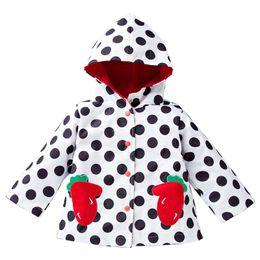 Wholesale Outwear Wind Jacket Baby - sping girl jackets for outdoors hooded girl windbreaker rainproof kids clothes waterproof child coats baby girls wind outwear raincoat hot