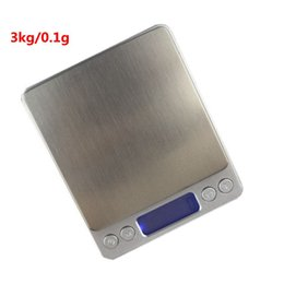Wholesale Food Dieting - 3000g 0.1g Digital Weight Balance Libra 3kg 0.1g Electronic Kitchen Scale Hight Accuracy Jewelry Food Diet Scale Free Shipping
