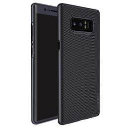 Wholesale luxury dual sim - Nillkin Heat Dissipation Luxury Air Case for Samsung Galaxy Note 8 Hard PC Phone Cases For Samsung Galaxy Note8 Dual Sim Case