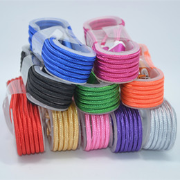 Wholesale S3 Plus - 1.5M 5FT Micro V8 5pin USB Braided Fabric Data Sync Charger Cable Cords for samsung s3 s4 s6 s7 Android Phone for phone 5 6 7 plus