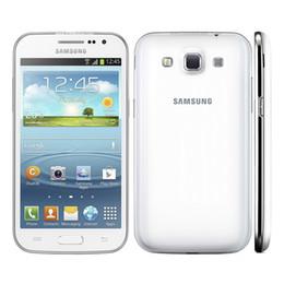 Wholesale unlocked cell phones 3g - Refurbished Samsung Galaxy Win I8552 Dual Sim 4.7inch Quad Core Phone 1G RAM 5.0MP 3G Unlocked Cell Phones
