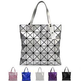 Wholesale Japanese Tops Women - Japanese Women BAO BAO Bag Geometry Style Luxury Brand Ladies Shoulder Bags Top Quality PU Leather Shoulder Bags Baobao Casual Handbag Totes