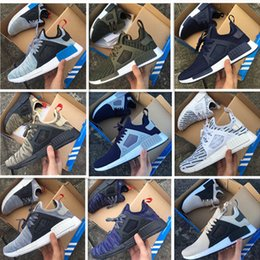 Wholesale Silver Bowtie - 2017 Boost NMD Xr1 R1 Variety Colors Triple White Black Men Shoe Women Running Shoes Originals NMD Runner Primeknit Casual Shoes