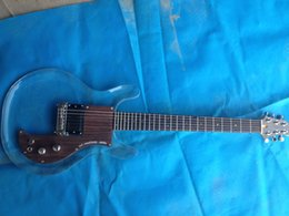 Wholesale Crystal Electric Guitar - New product Dan acrylic electric guitar ,crystal electric guitar ,rosewood pickguard