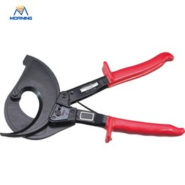 Wholesale Ratchet Wire Cable Cutter - China HS-520A Cutting range:400mm2 max Ratchet cable cutter, Not for cutting steel or steel wire