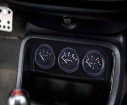 Wholesale Oil Meter - B735 52MM 3 in 1 Car Meter Auto Gauge Water Temperature Oil Pressure Sensor Triple Kit 3 in 1 car auto gauge simple operation