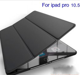 Wholesale Ipad Cover Foldable - Smart Cover Case for New iPad Pro 10.5 2017 Case PU Leather Foldable Flip Tablet Cover for iPad Pro 10.5 Magnet