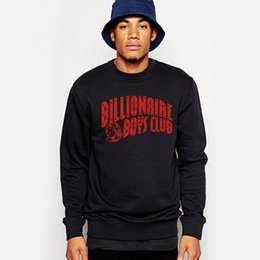 Wholesale Mens Army Coat Long - BILLIONAIRE BOYS CLUB 100% COTTON GRAPHIC MENS SWEATSHIRTS PYERX PLAYER ASAP Rocky yeezus coat hoodies outers plus size 2XL