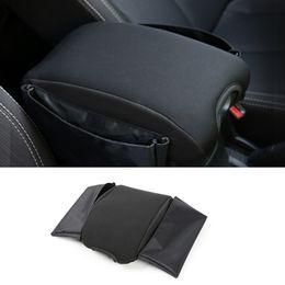 Wholesale Center Console Box - Car Armrests Pads Cover Center Console Armrest Seat Box Pad Multifunctional Cotton for Jeep Wrangler Black