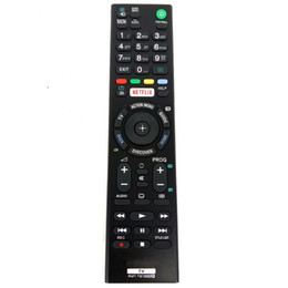 Discount sony 4k - Wholesale- Hot sale For Sony 4K HDR with Android TV Remote RMT-TX100D RMT TX100D NETFLIX LED TV for KD-43X8301C KD-55XD8599 Fernbedienung