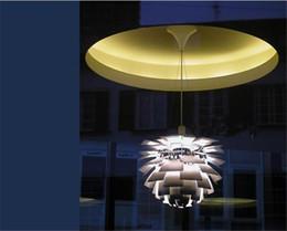 Colgante de alcachofa ph online-Nuevo Estilo Europeo Moderno Elegante Simplicidad Aluminio 40 CM Poul Henningsen PH Artichoke Luz de Techo Lámpara Colgante Colgante de Iluminación