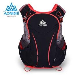Wholesale Pink Kettles - Wholesale-AONIJIE 5L Running Backpack Kettle Package Marathon Cycling Bags Running Vest Kettle Sport Bag Waterproof Nylon Bag