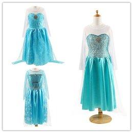 Wholesale Maxi Skirt Kids - Cosplay dress Frozen Elsa dress princess skirt Frozen Kids Gift children's day birthday party skirt children's skirt wholesale girl's maxi