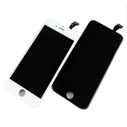 Wholesale resistive lcd touch - for Iphone 6 lcd screen Display touch Digitizer assembly TESTED NO DEAD PIXEL 1PCS free shipping