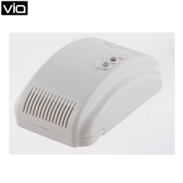 Wholesale Natural Gas Detectors - Wholesale- ALF-G012 Free Shipping 2016 China Networking Natural LPG Gas Leak Detector With DC 12V