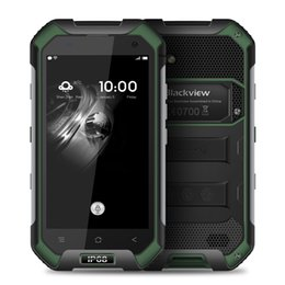 Wholesale Gorilla Core - Blackview BV6000 4G Smartphone - Army Green 4.7 inch Corning Gorilla Glass 3 Android 7.0 3GB RAM 32GB ROM