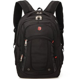 "Wholesale Laptop Bags 15 - SVVISSGEM High-Quality 1680D nylon 15 - 17"" laptop backpack Scratch-resistant Outdoor leisure Men And Women Duffel Bags"