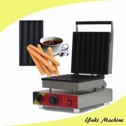 Wholesale Commercial Plate - Electric Churros Baking Machine Spanish Churro Maker Machine for sale 110V 220V Commercial Churros-shaped Waffle Making Machine