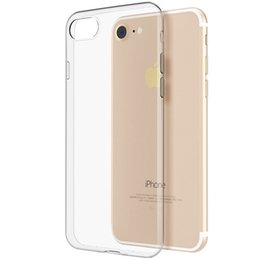 Wholesale Rubber Iphone 5s Covers Clear - Bastec HD Clear Crystal Soft TPU Rubber Shockproof Ultra Thin Silicone Phone Cover Case for iPhone 6 7 6S Plus 5 5s SE