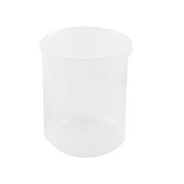 Wholesale Liquid Measuring Cups - Wholesale- SOSW-Clear White Plastic 250mL Measuring Cup Beaker for Flour Liquid