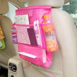 2020 место для бутылочки для воды Wholesale-Baby stuff Organizer for car insualtion water/milk bottle cup Storage Holder car seat bag for baby care colorful diaper bag дешево место для бутылочки для воды