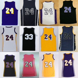 Wholesale Quality Player - 23 Kobe Bryant Basketball sport Jerseys 2017 New arrival Mens Best quality Embroidery with players name logos 100% stitched Hot