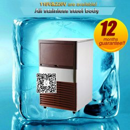 Wholesale Making Ice Cubes - Ice making machine automatic water ice cube maker commercial square icebox fridge 25KG for milk tea shop bar equipment