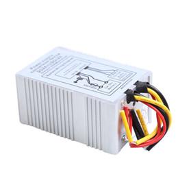 Wholesale Converter 24v Dc - Wholesale- 24V to 12V DC-DC Car Power Supply Inverter Converter Conversion Device 30A Car Tools E#A