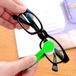 Wholesale Spectacle Cleaning - 1 pcs Multifunctional multicolor portable glasses wipe spectacles cleaning glasses wiper cloth Clean Wipe Tools Free shipping