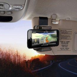 Wholesale Stand Dvr Digital - Wholesale- car NOPNOG For iPhone Samsung Sun Visor Mount Clip For GPS PDA MP4 Camera Digital DVR Mobile Phone Stand Bracket Car Phone Hold