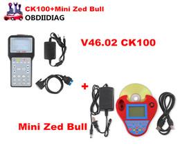 Wholesale Sbb Update - V46.02 CK100 CK-100 Auto Key Programmer CK100 SBB Update Version &MINI Zed Bull V508 Support Multi-Language Multi-Cars
