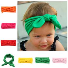 Wholesale Crochet Pink Headband For Babies - Hair Accessories baby girl knit crochet turban headband warm headbands hair accessories for newborns hair head bands 0601313