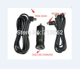 Wholesale Start Charger - Wholesale- In Car Charger & Micro or Mini USB Data Cable for Tomtom GO VIA LIVE START XL ONE SERIES Free shipping by DHL 100pcs\lot