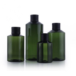 Wholesale Green Bottle Lotion - 50ML 100ML Plastic packaging bottle,Shampoo bottle Emulsion bottle green square lotion bottles fast shipping F2017753