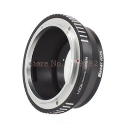 Wholesale Black Fd - Wholesale- KECAY FD-FX Aluminum Alloy for Can&n FD Mount Lens Adapter Ring for Fujifilm FX X Mount X F X-Pro1 CameraX-Black+Silver