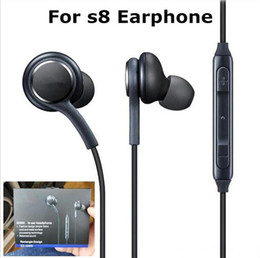 Wholesale Earbuds Retail Box - For Samsung s8 Earphone Earbuds High Quality EO-IG955 OEM Tuned Earphones In Ear Headphone Headset for Galaxy s8 plus With Mic Retail Box