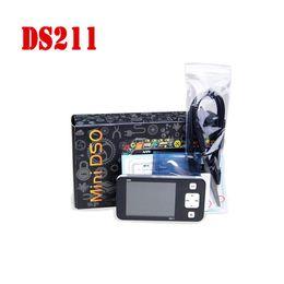"""Livraison gratuite DDDSO DS211 Oscilloscope Numérique Portable USB 200KMhz BRAS Nano 2.8 """"avec Sondes Limt Sac DS0211 Mini Automobile Osciloscopio ? partir de fabricateur"""