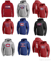 Wholesale Number 31 - 2017 NHL Montreal Canadiens 31 Carey Price 6 Shea Weber Name & Number Hoodies for man women kid
