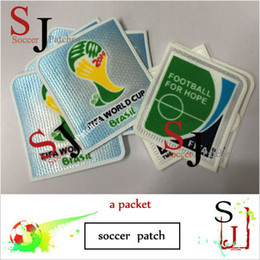 Wholesale Free Shipping Iron Patches - wholesale free shipping benefit iron 2014 cup world special armband patch top good 2014 world patches Brand new match soccer patch badges