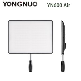 Wholesale Bi Color Led Video Light - Wholesale-In Stock! NEW YONGNUO YN600 Air Led Video Light Panel 5500K and 3200K-5500K Bi-color Photography Studio Lighting
