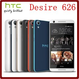 Wholesale Dhl Free Shipping 16gb 1gb - Original HTC Desire 626 626S Unlocked Duos 5.0 Inch 2GB RAM+16GB ROM 13.0MP Quad-core Refurbished Touchscreen Cell Phone DHL Free shipping