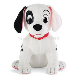 Wholesale Doll Patch - Wholesale- New 101 Dalmatians Patch Dog Plush Toy 27cm Cute Stuffed Animals Kids Toys Dolls For Children Gifts