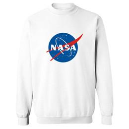Felpa all'ingrosso-Trendy NASA 4XL Uomo Luxury in The Martian Matt Damon Uomo Felpe con cappuccio e felpe Streetswear per coppie da