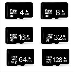 Wholesale 32gb Phone Memory Card - Mciro SD cards Class10 TF card memory card mini TF memory card real capacity8GB 16GB 32GB for cell phones tablet