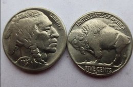 Wholesale Art Leg - Date 1937d 3-legged Buffalo Nickel five cents COINS COPY Promotion Cheap Factory Price nice home Accessories Coins