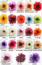 Wholesale Flower Shop Displays - Wholesale Romantic And Beautiful Artificial Gerbera African daisy for Wedding Party Fit For Home Shop Office chamber desktop Decorations