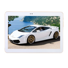 5mp camera android tablet Coupons - Wholesale- Sales promotion 4G LTE S106 Android 6.0 10.1 inch tablet pc 4GB RAM 32GB ROM 8 Cores 5MP IPS Kids Gift Best Tablets computer