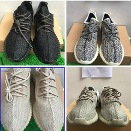 Wholesale High Sports Socks - gift(sock+keychian) PU quality Moonrock 350 Boost Low Shoes Sports Sneakers Shoes High Quility Kanye West Shoes Right Version US5-US13