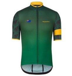 Wholesale Australia Cycling Jersey - 2017 Men Cycling Jersey 2016 Australia Summer Cycling Team Jersey MTB Bike Wear Road Bike Clothing Ropa Ciclismo Hombre Cycling Wear